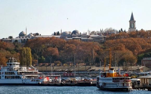 Topkapı Palace From Galata Bridge, Istanbul