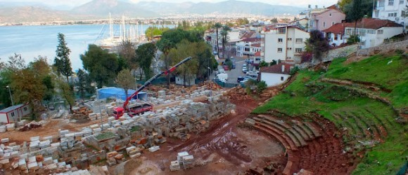 Telmessos Theatre In Fethiye – Where We're At In December 2013