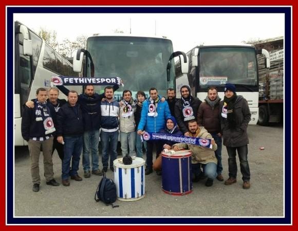 Fethiyespor Fans Ready To Take On Fenerbahçe