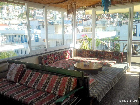 Breakfast Area, Meltem Pension, Kaş
