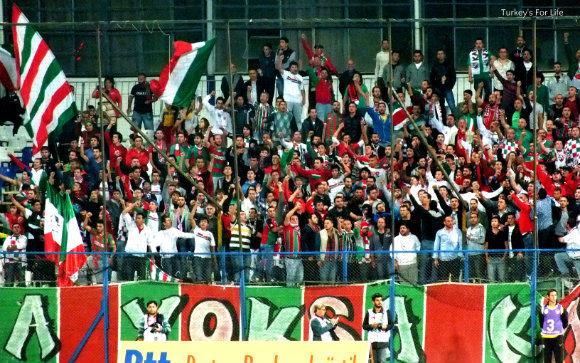 Fethiyespor Away Supporters: Karşıyaka