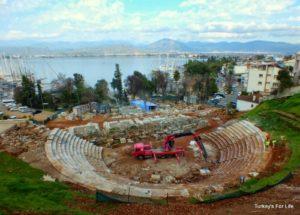 Fethiye Telmessos Theatre Restoration Turkey