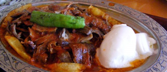 Iskender Kebabı In Patnos, East Turkey