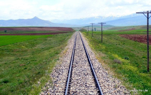 Railway Line East Turkey