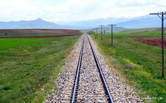 Railway Line East Turkey
