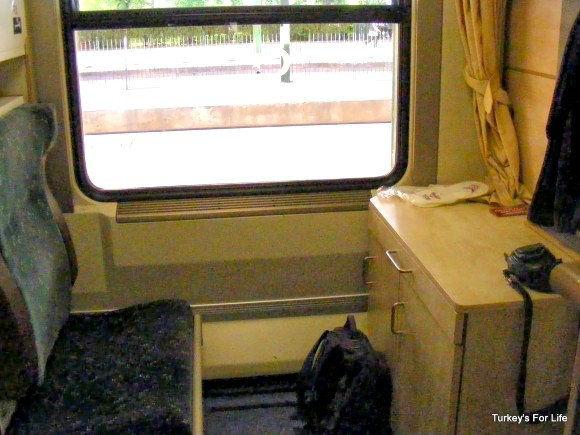 Ankara Kars Train Cabin