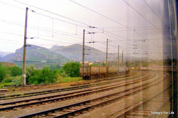 Ankara Kars Train Heading East
