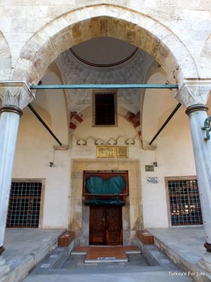 Entrance To Kücük Ayasofya, Istanbul, Turkey