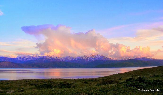 Lake Van Sunset