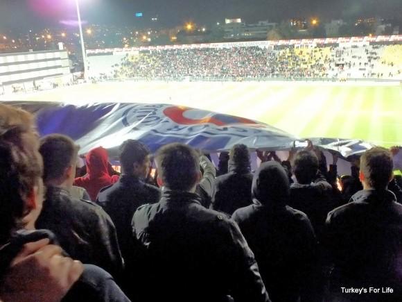 At The Fethiyespor vs Karşıyaka Match, Izmir