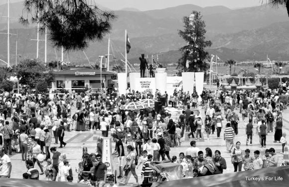 Beşkaza Meydanı, Fethiye - Children's Day 2014