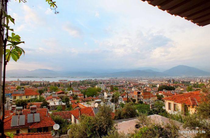View From Kings Garden Restaurant, Fethiye