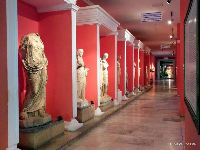 Antalya Museum Statues