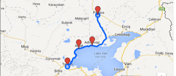 Lake Van Road Trip