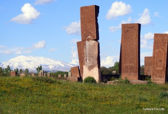Ahlat Cemetery & Süphan Mountain, East Turkey