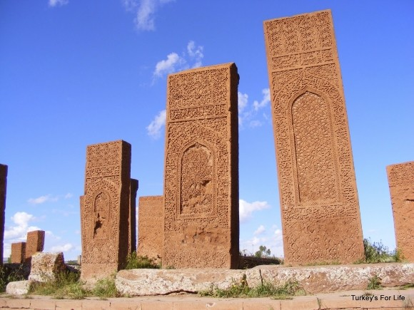 Ahlat Tombstones, Lake Van, East Turkey