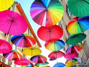 Fethiye Umbrella Street