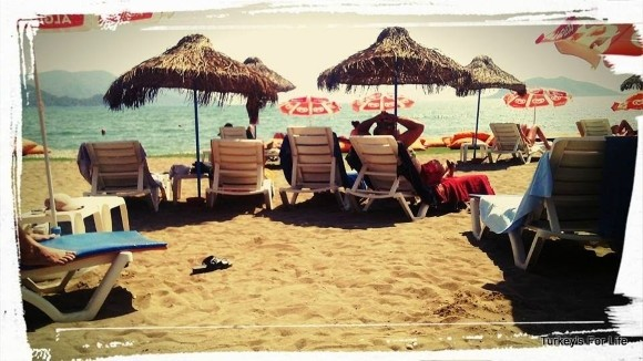 Chilling At The Surf Cafe, Çalış Beach, Fethiye