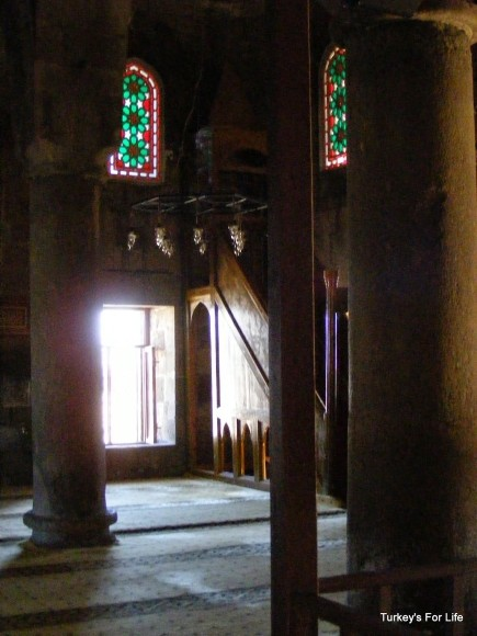 Inside Tuğrul Bey Camii, East Turkey