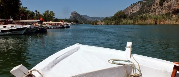 Dalyan River Boat to Turtle Beach Iztuzu