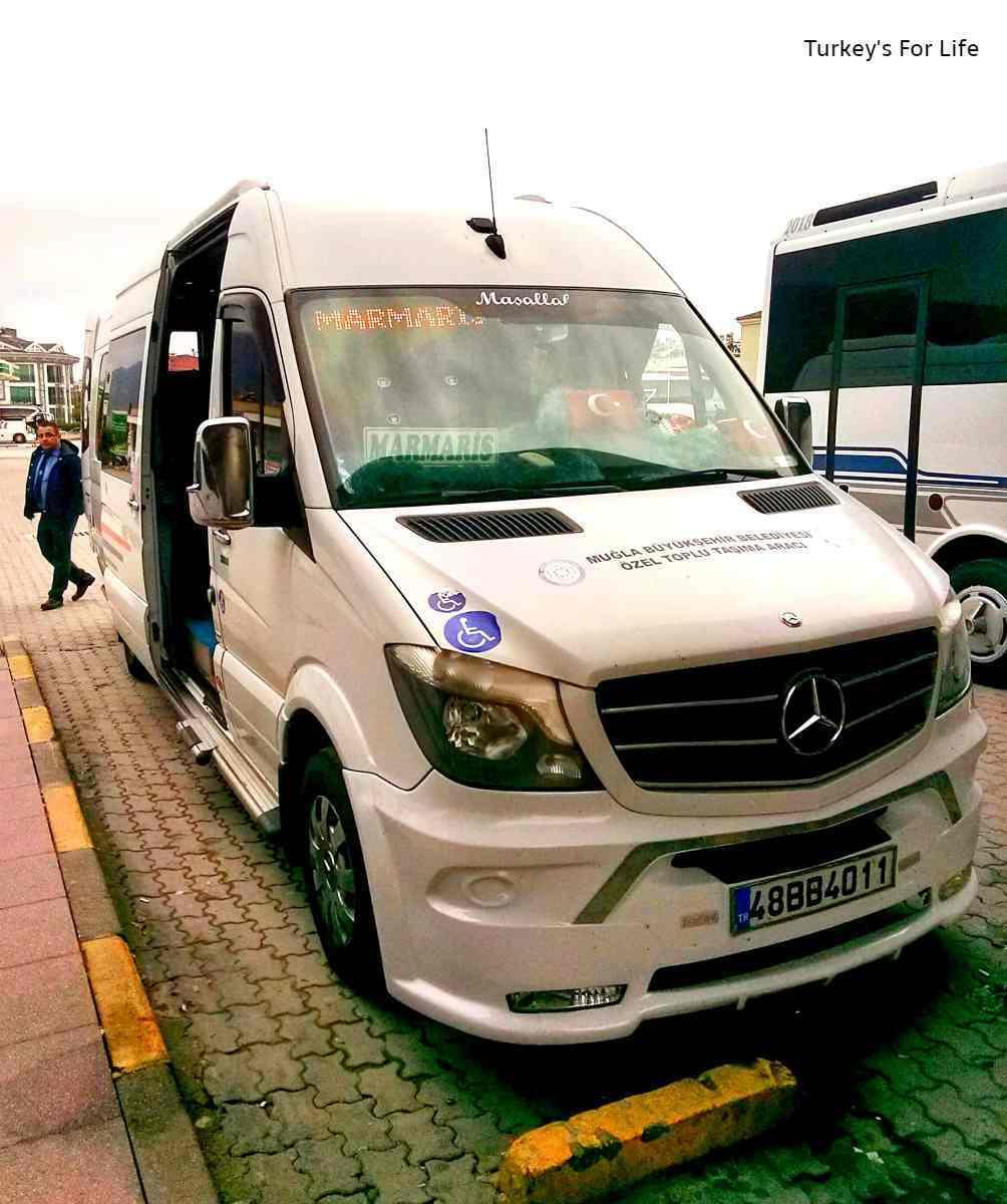 Fethiye Dalyan Bus