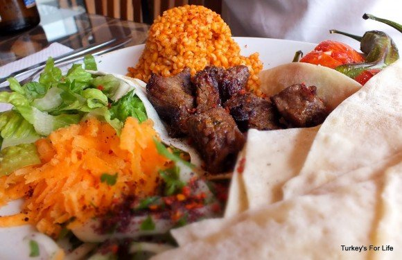 Lamb Şiş, Mehtap Lokantası, Calis, Fethiye