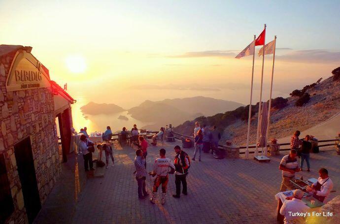 Babadağ Fethiye Sunset