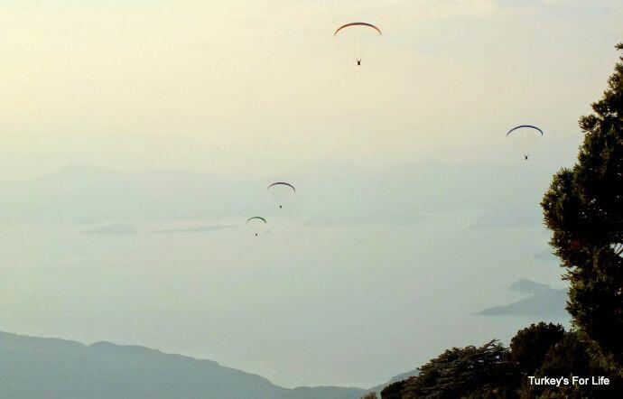 Paragliders Babadağ, Fethiye