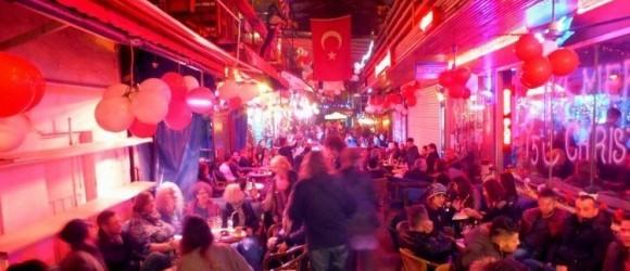 Fethiye Paspatur Deep Blue Bar