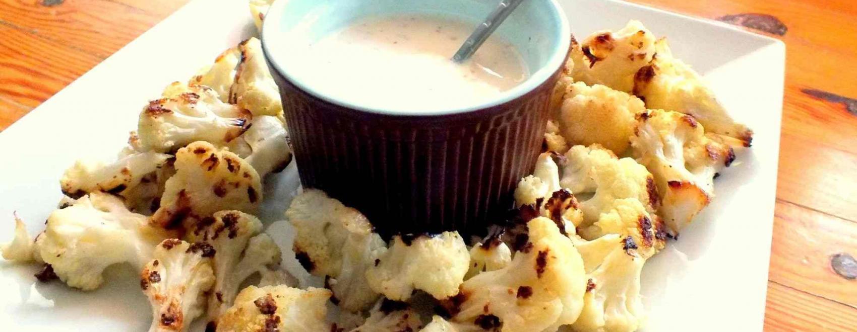 Cauliflower And Yoghurt Meze