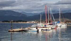 Fethiye Harbour Winter