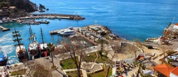 Antalya Harbour From Lift