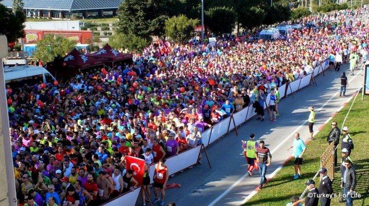 Runatolia Marathon, Antalya, Turkey