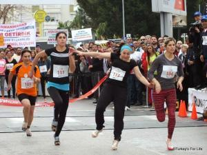 Runatolia High Heels Race Faller