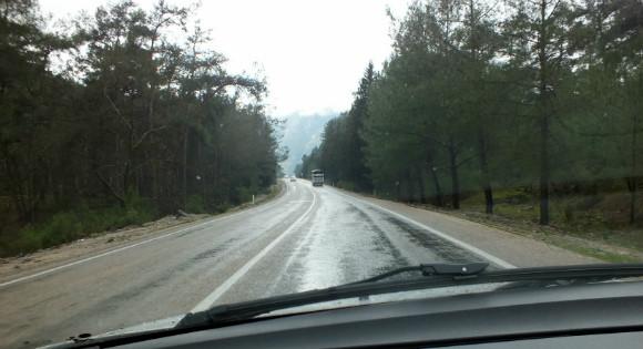 Antalya To Fethiye D400 Coast Road
