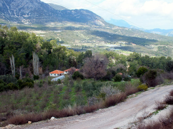 Approaching Adrasan From Antalya