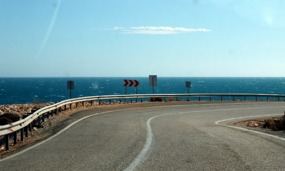 Approaching Demre On Our Antalya To Fethiye Road Trip