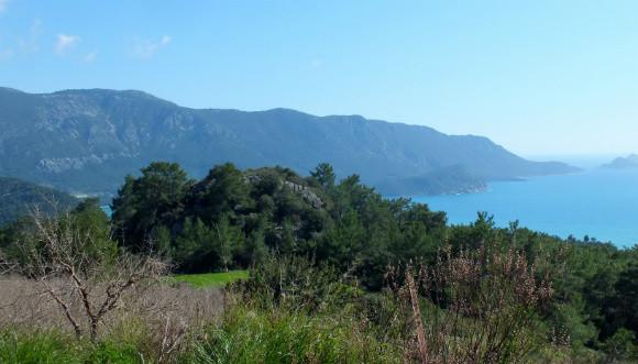 Kumluca On The Antalya To Fethiye Road