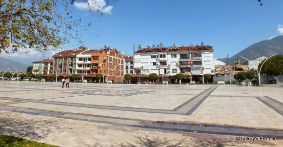 Demolition Of Fethiye Buildings