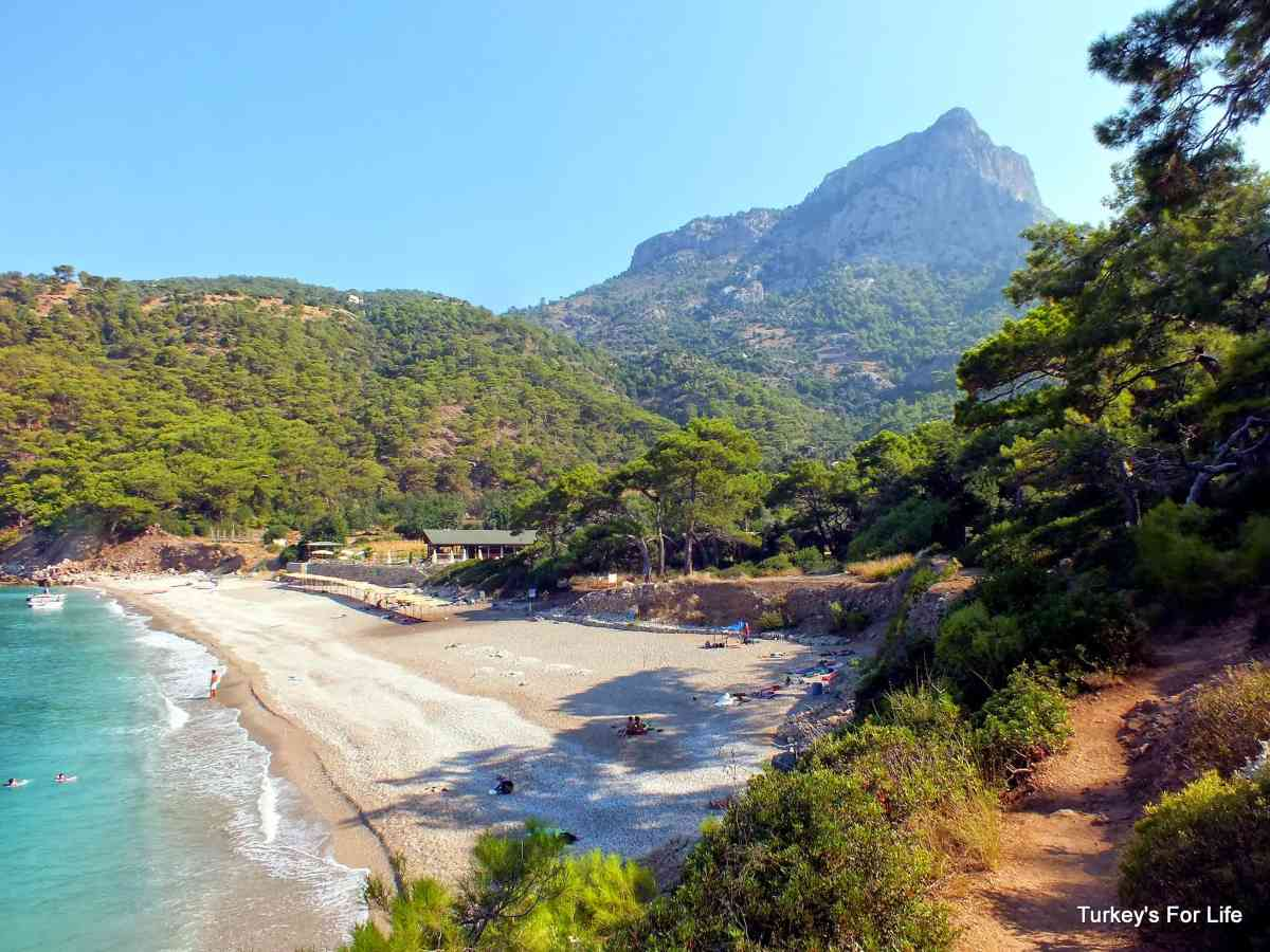 Kabak Beach, South West Turkey