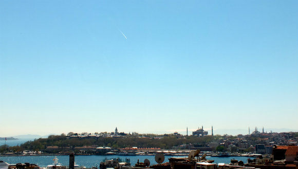 Staying In Istanbul - View From Pasha Place Near Galata Tower