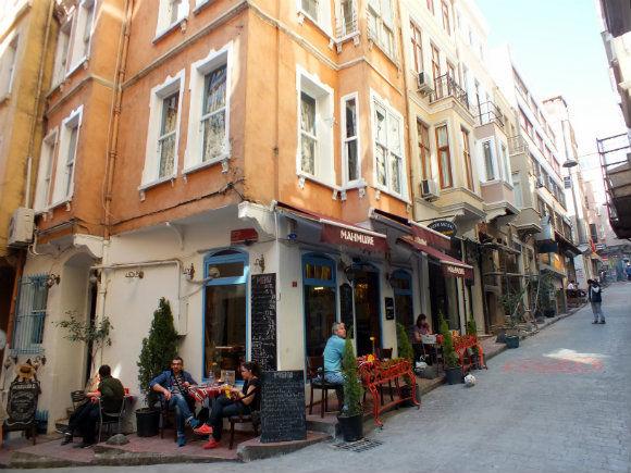Galata Roadside Cafe, Istanbul
