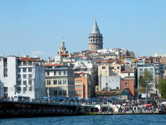 Galata Tower, Beyoğlu, Istanbul Turkey