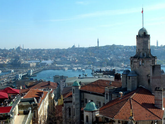 Galata Views Of Istanbul