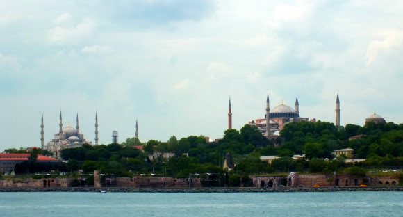 Istanbul Sulanahmet From Ferry To Kadikoy