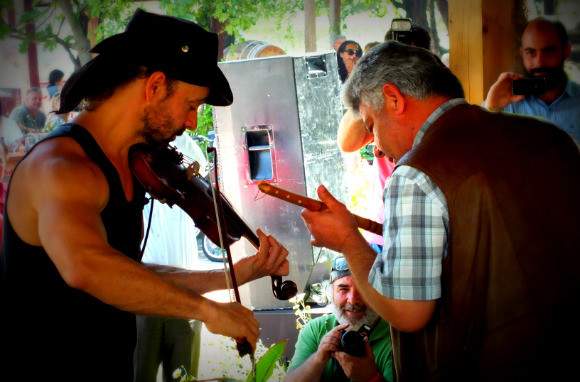 Scott Jeffers And Ahmet Erarslan At Kaya Fest In Kayaköy, Fethiye