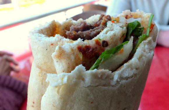 Turkish Food Adana Dürüm Kebab