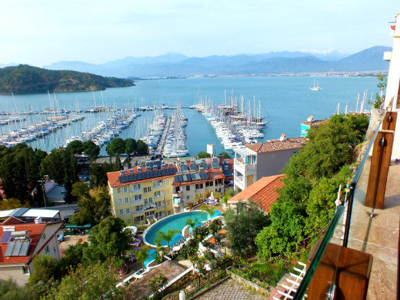 Views Of Fethiye From Camino Hostel And Pub
