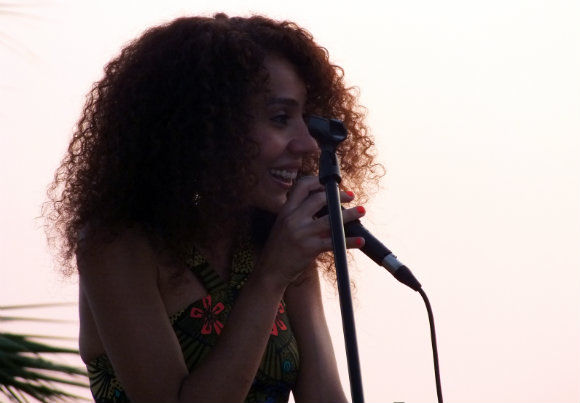 Elif Çağlar Concert At Buzz Beach Bar In Ölüdeniz
