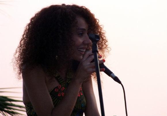 Elif Çağlar Concert At Buzz Beach Bar In Ölüdeniz